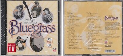 TREASURY OF BLUEGRASS Various Artists TIME LIFE New Sealed 2 CD Set Ricky Skaggs