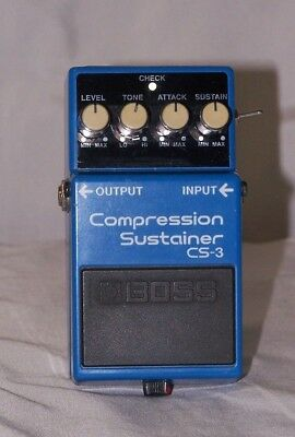 BOSS CS-3 Modified Compression Sustainer Pedal