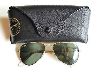 Pre-owned Ray-Ban Woman's Aviator Sunglasses