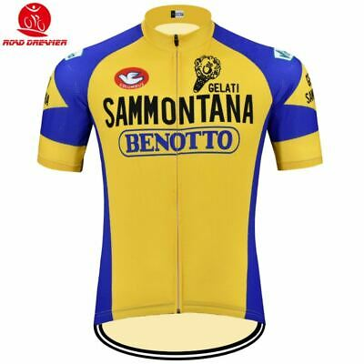 SAMMONTANA BENOTTO RETRO Cycling BIKE Jersey Shirt Tricot Maillot 263bd0ba1