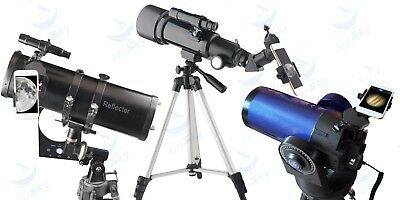Telescope Phone Adapter Universal Mount works with binoculars and monoculars!