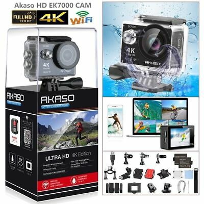 Dragon Touch DT7000 Action Sports Camera Wifi 4K 16MP Digital DVR Cam Waterproof
