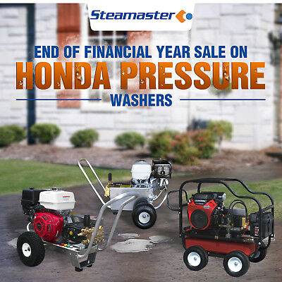 MASSIVE END OF FINANCIAL YEAR SALE ON RIGHT NOW! honda psi pressure washer
