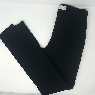 a43ed6ae4b Abercrombie and Fitch Women's Size M Black High Waist Knit Leggings Pants  Yoga
