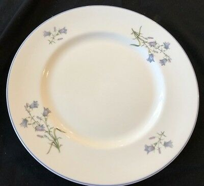 Elizabethan 'Moorland' English China Dinner Plate Cake Plate In Vg Cond.