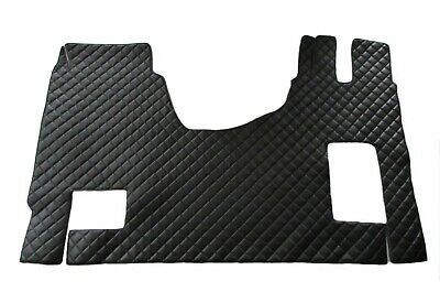 TRUCK Floor Mats LHD MERCEDES ACTROS MP4 AUTOMAT AFTER 2014 BLACK Eco Leather