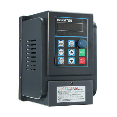 220V 1.5KW 2HP 8A Variable Frequency Drive Inverter CNC VFD Single To 3 Phase