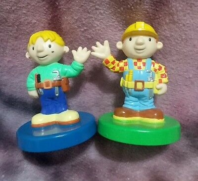 Bob the Builder Rubber Stamp Set of Two 2001 Hasbro