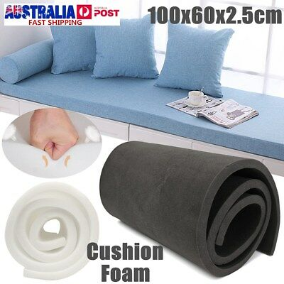 40''x24''x1'' High Density Seat Foam Cushion Replacement Upholstery Firm Pads