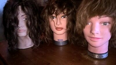 Hair Salon / Boutique Mannequin Doll Heads -Pickup Hornsby(2077) or Botany(2019)