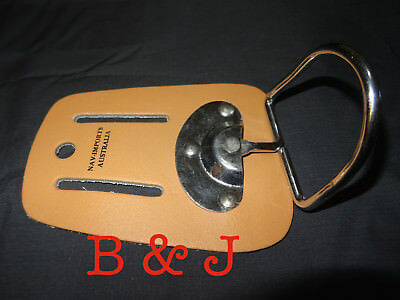 Leather Hammer Holder Saddle Holster Tool Building Nails Trade Swivel Belt