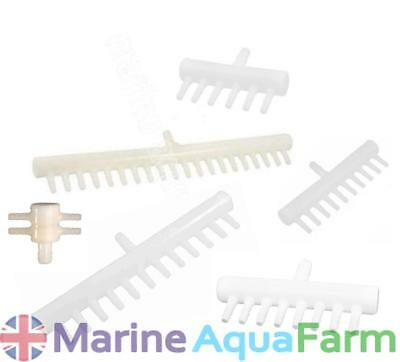 Aquarium Air Line Splitter 4 6 8 10 12 16 20 Way, Air Pump, Stone, Fish Tank