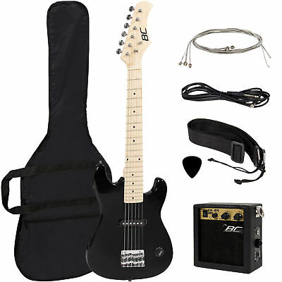 "#Best Choice Products 30"" Kids Electric Guitar Kit w/ 5W Amp (Black)#"