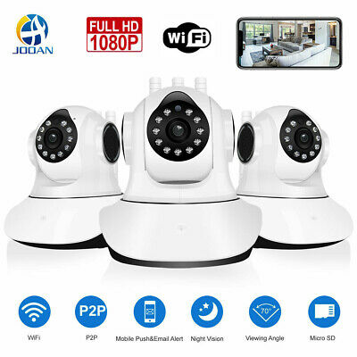 JOOAN 1080P WIFI Wireless Security Camera CCTV Home IP Camera Day&Night Version