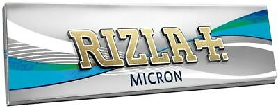 Rizla Micron Single Smoking Cigarette Tobacco Ultra Thin Rolling 50 Papers Pack