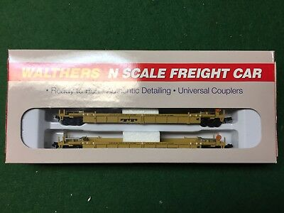 Walthers N Scale Double Stack Car TTX 2 Pack