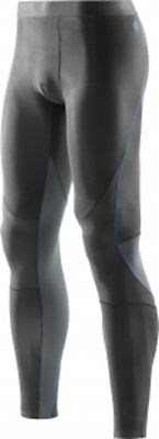 SKINS Longsleeve Recovery TIGHTS Men RY400 Unused NEW - Large - Graphite/Blue