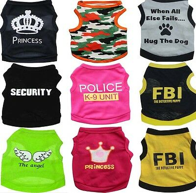 Hot Pet Warm Clothes Puppy Dog Cat Vest Coat Jacket Hoodie Dress Apparel Various