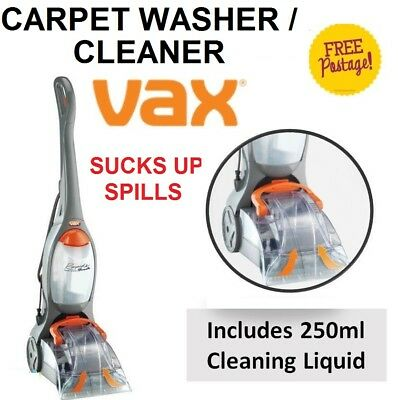 VAX Wet Carpet Washer Cleaner Home Office Floor Cleaning Washer Vacuum