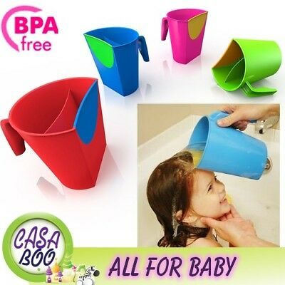 No Tears Shampoo Rinse Cup Baby Product Quality Bath Colours