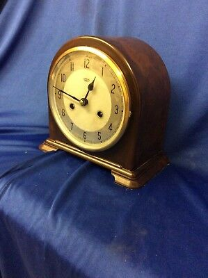 ORIGINAL SMITHS BAKELITE CASE 8 day Striking mantle clock.