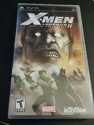 X-men Legends 2 Rise Of Apocalypse Sony PSP Game Complete