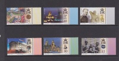 Isle of Man, Royal chapter of Liverpool, 2007, Mint set of 6.