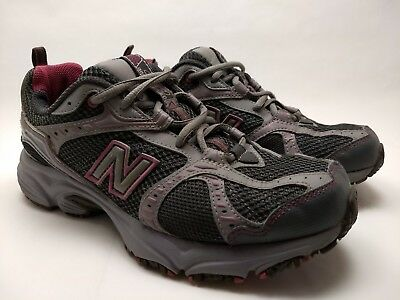 NEW BALANCE 461 All Terrain Gray Running Pink Hiking Trail Running Gray Schuhes ... 87e664