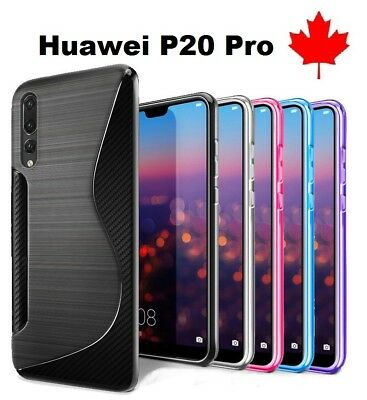 For Huawei P20 Pro - TPU Anti-Scratches Soft Silicone Back Cover Case Canada