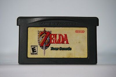 The Legend of Zelda a Link to the past four Swords USA Advance Game Boy GBA 4509