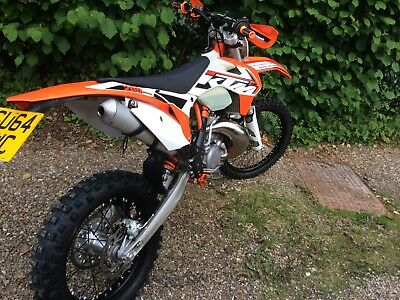 Ktm 200 Exc 2017 Electric Start Low Hours