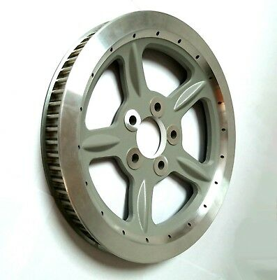 Doss Oem Style 68 Tooth Wheel Pulley In Silver For 04-06 Sportster (Arm971025)