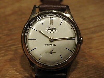 50er Kienzle Automatik - 21 Jewels - Rare automatically vintage watch