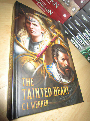 C. L. Werner THE TAINTED HEART 1st/HB MINT Warhammer Age Of Sigmar Pre-Release