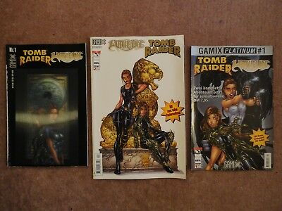 Tomb Raider / Witchblade - Comic Sammlung - Comic Konvolut - Comic Paket