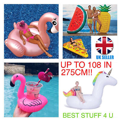 Inflatable Giant Swim Pool Floats Swimming Fun Water Sports Beach Kids Toy ()