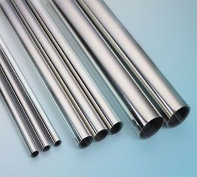 "304 Stainless Steel Capillary Tube Length 20"" Dia3 4 5 6 8 10 12mm Wall0.5-2mm"