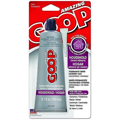 Eclectic Products 130012 Amazing Goop 3.7 Ounce Household Contact Adhesive