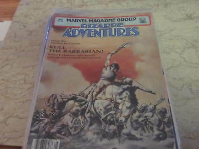 Bizarre Adventures #26 + Bonus: Kull and the Barbarians #1 Reading Copy
