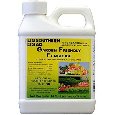 Southern Ag Garden Friendly Biological Fungicide, 16oz - 1 Pint