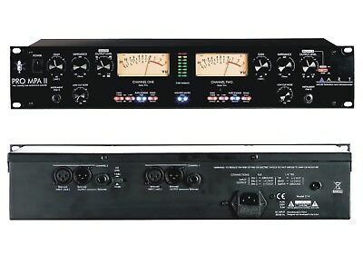 ART Pro MPA II. 2 Channel Tube Microphone Preamp with Variable Impedance