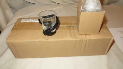 The Kraken Black Spiced Rum Tentacle Wrapped Shot Glass Set of 10 Brand New, Box