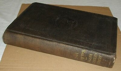 ***early 1867 Pennsylvania Auditor General's Annual Report Of Rail Roads Hc Book