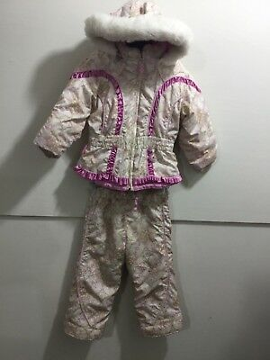 2006810710f1 OBERMEYER TODDLER GIRLS size 4 adorable snow pants and matching ...