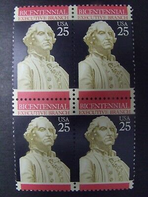 US Postage Stamps 1989 Inauguration of George Washington  4-25