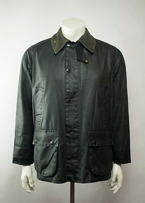 Vintage Barbour Bedale Waxed Jacket Navy ( Size C40 / 102 CM )