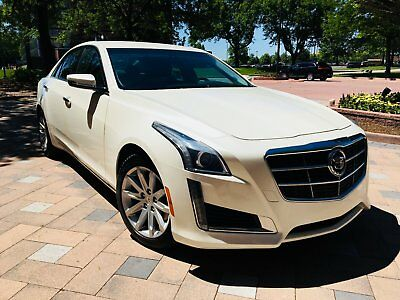 2014 Cadillac CTS 2.0l Turbo/ LUXURY/ PEARL WHITE/ LOWW MILES/ SUPER CLEAN!! 2014 cadillac cts