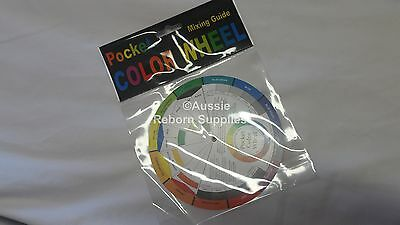Colour Wheel Reborn Baby Color Chart for Neutralising a kit