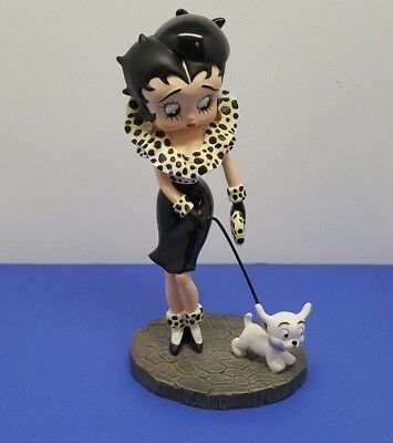 1999 - Betty Boop With Dog - Black and White - King Features
