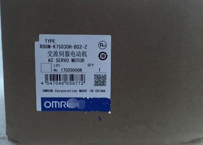 New  OMRON   R88M-K75030H-BS2-Z  free shipping